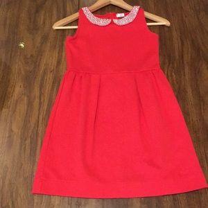 JCREW Red Dress 10Y